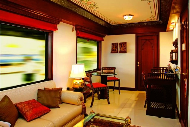 Presidential Suite In Maharaja Express