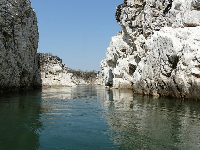 A View Of Marble Rocks