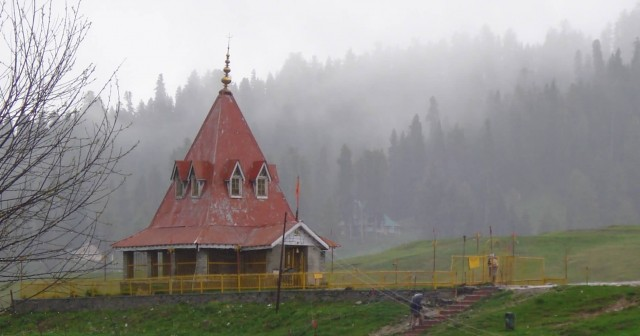 Ancient Temple Gulmarg