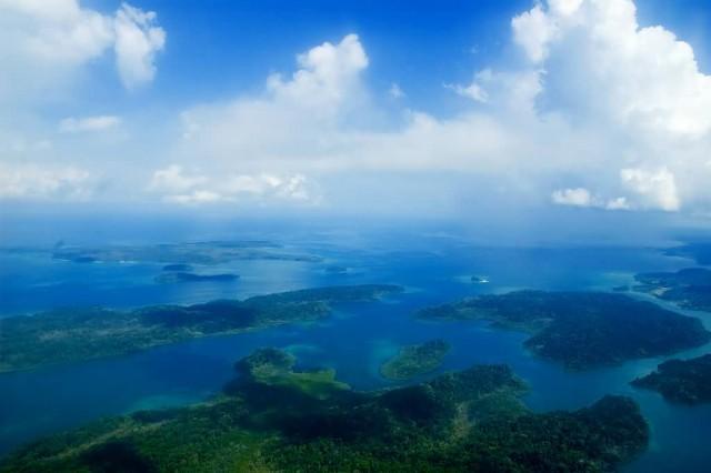 Andaman Island Aerial View