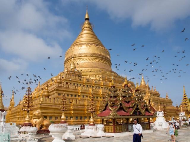 Swezigon Pagoda, Bagan