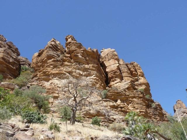 Crag Mali Africa Rock