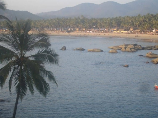 Palolem Beach Panoramic View