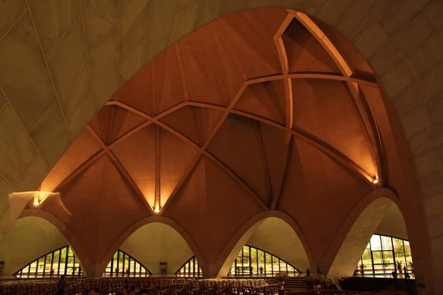 Interior Of Lotus Temple