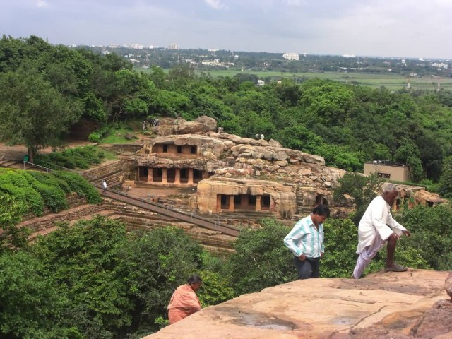 Udayagiri Caves From Khandagiri