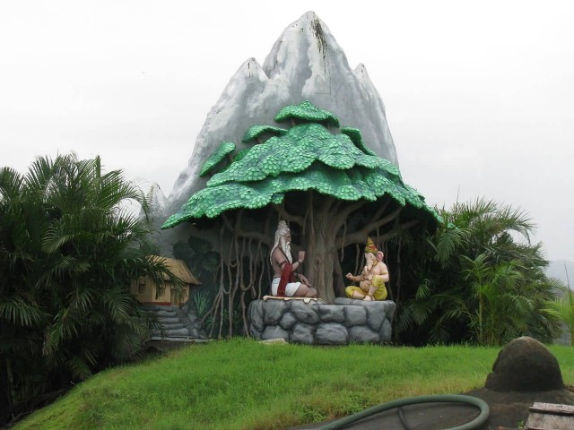 Temple On Om Beach
