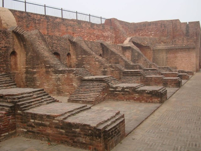 Ruins Of Harsha A Tila Warehouse