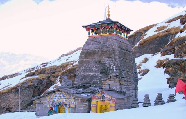 Tungnath Temple In Winter