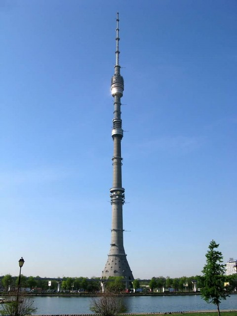 TV Ttower In Ostankino