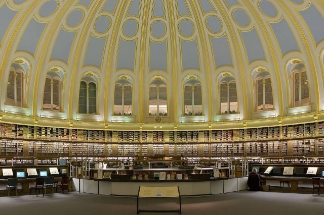 British Museum Reading Room Section