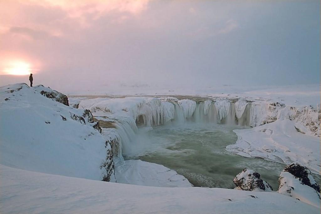 Gothafoss Winter, Iceland