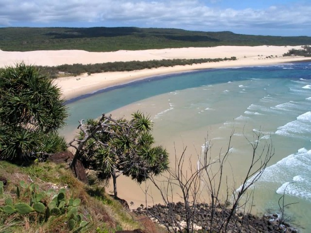 Fraser Island View From Indian Head