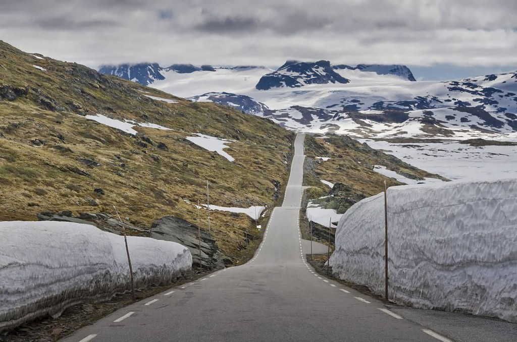 Road At Sognefjellet, Norway