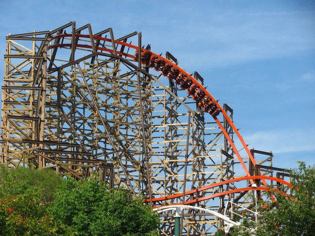 Goliath At Six Flags Great America
