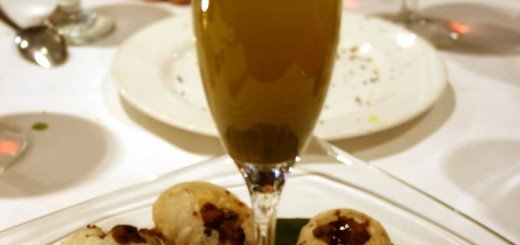 Indian Cuisine Panipuri