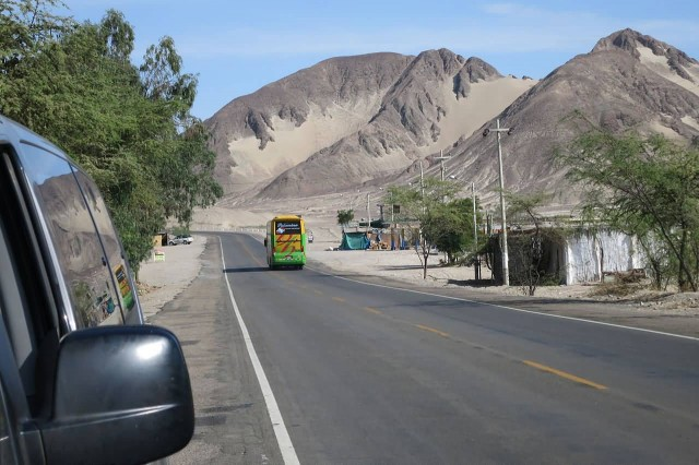 The Pan American Highway, Peru