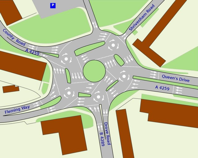 Map Of Magic Roundabout
