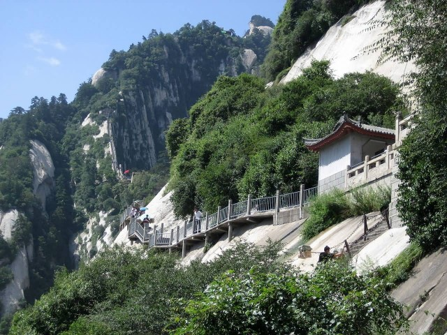 A Path Up Mount Hua