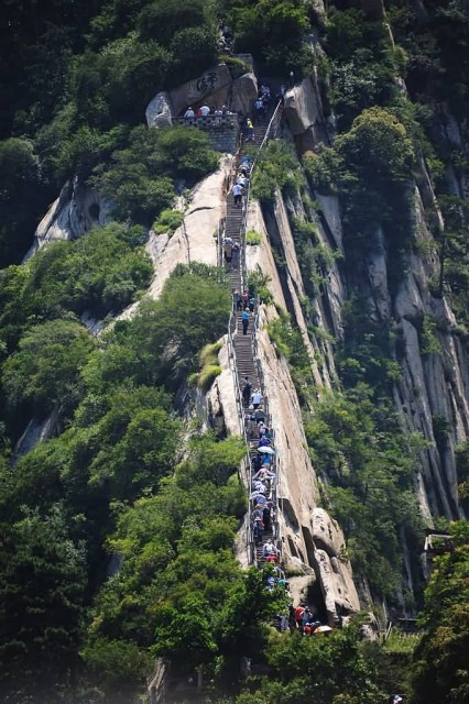 Mount Hua Shan Steps