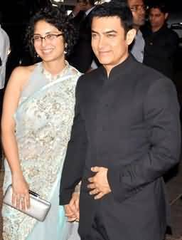 Aamir Khan With His Wife Kiran Rao
