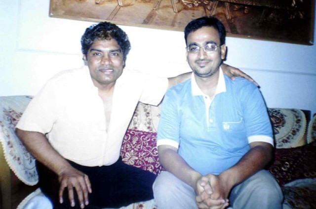 Johnny Lever With Mustafa Sikander