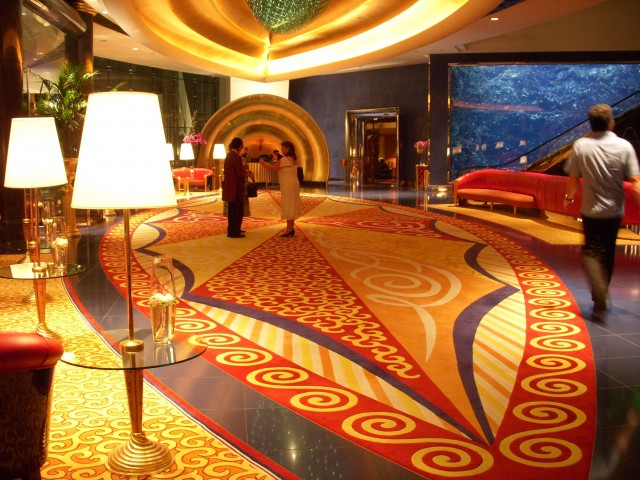 Burj Al Arab Hotel Interior