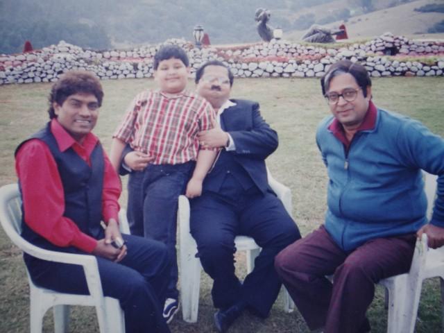Shot From Movie Raju Chacha