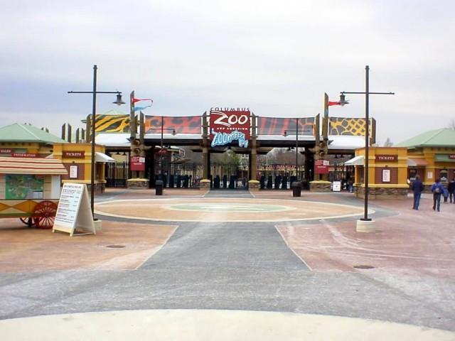 Cols Zoo Main Gate