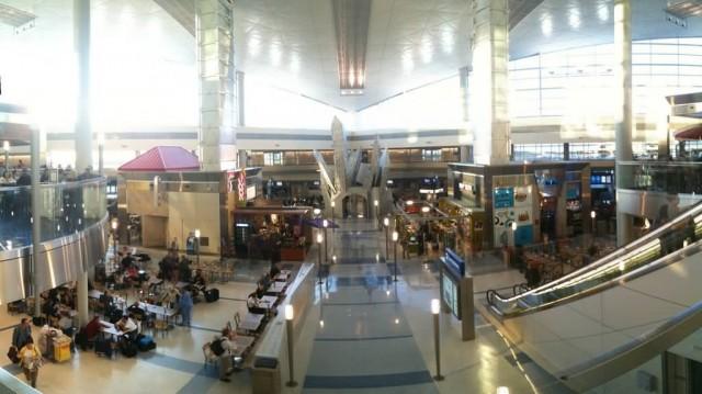 Dallas Airport Killing Time Between Flights