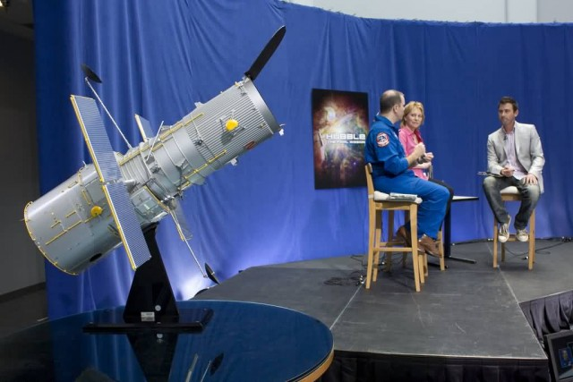 Discovery Science Hubble Broadcast