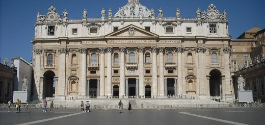 Façade Of St. Peter-s Basilica