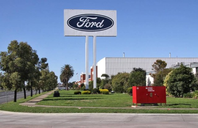 Ford Stamping Plant Geelong
