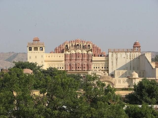 Hawa Mahal Rare View