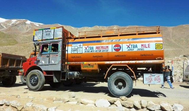 Indian Oil Fuel Truck
