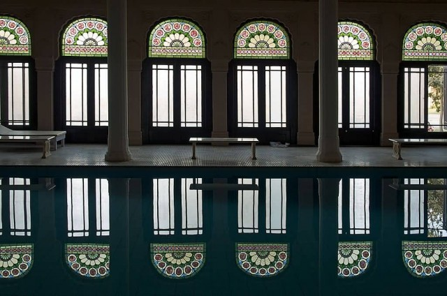 Indoor Pool At Lalgarh Palace