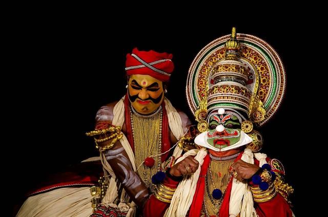 Keechaka Vadham In Kathakali Dance