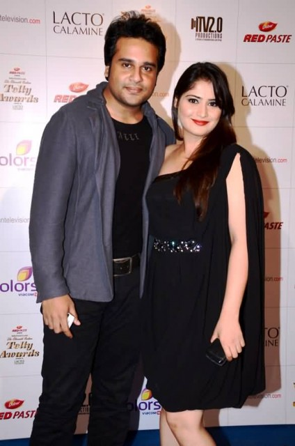Krishna Abhishek With Aarti