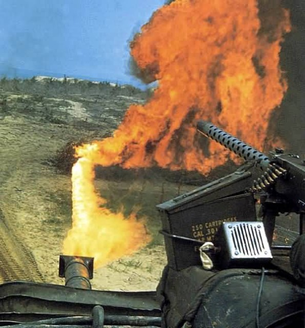 Marine Flame Tank