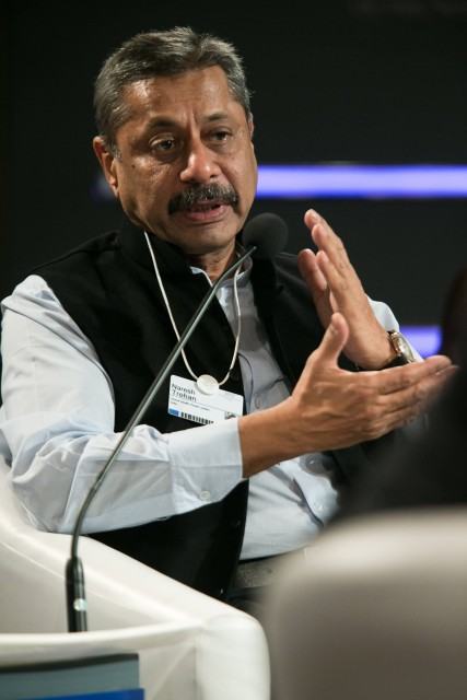 Naresh Trehan At The World Economic Forum On India 2012