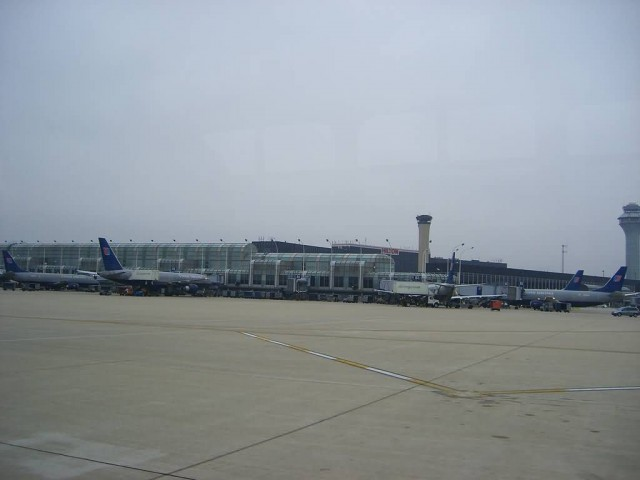 O Hare From The Shuttle