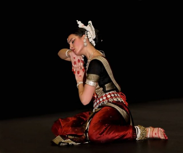 Odissi Dancer Performing Yahi Madhava