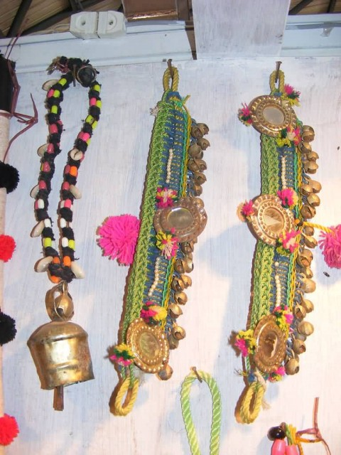 Ornaments Used To decorate The Cattles