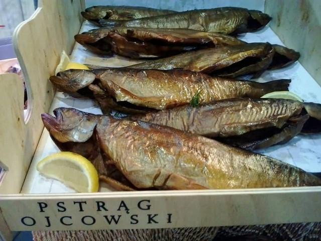 Salmon Dish Pstrag ojcowski