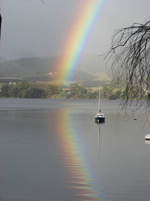 Reflected Rainbow