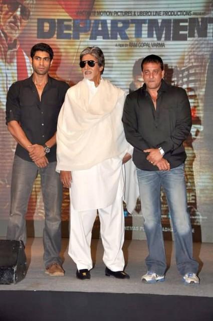 Sanjay Dutt With Amitabh Bachchan