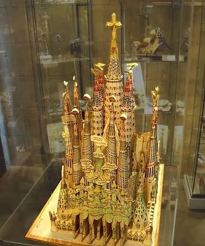 Sagrada Familia Model