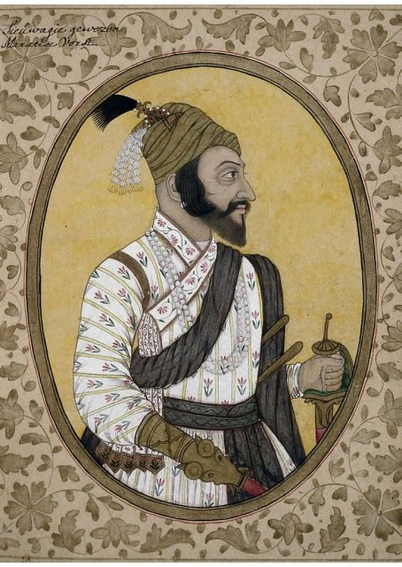 ShivajiRaje Potrait In British Museum