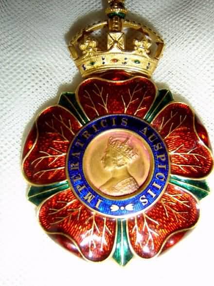 Actual k.c.i.e. Medal