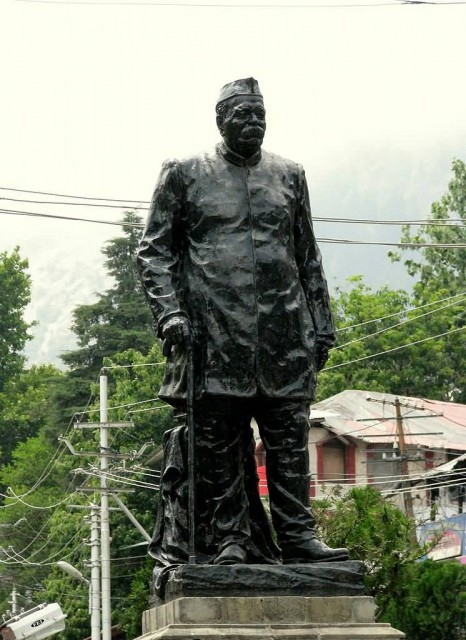 Statue Of Govind Ballabh Pant At Mall Road Nainital