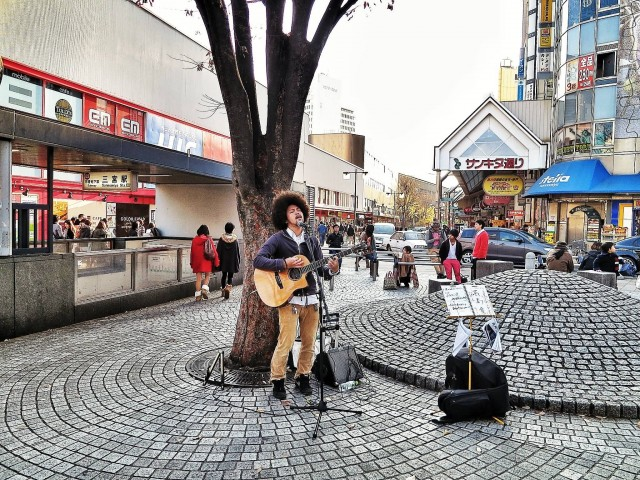 Street Performer, Kobe
